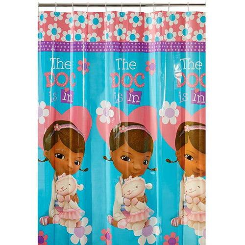 Disney Doc Mcstuffins Shower Curtain
