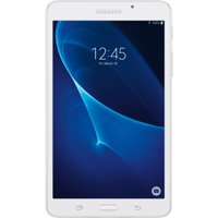 """SAMSUNG Galaxy Tab A 7"""" 8GB Android 5.1 WiFi Tablet White - Micro SD Card Slot - SM-T280NZWAXAR"""