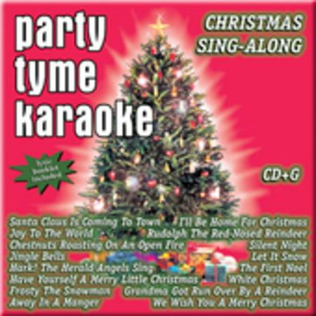 Christmas Karaoke Cd.Party Tyme Karaoke Christmas Sing A Long Cd