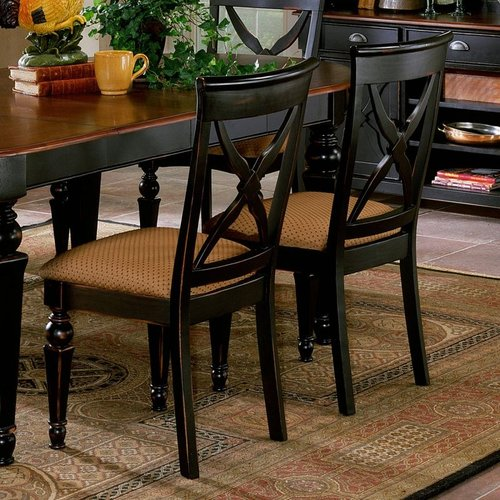 Hillsdale Furniture 4439-802W Northern Heights Set Dining Chair (Set of 2)