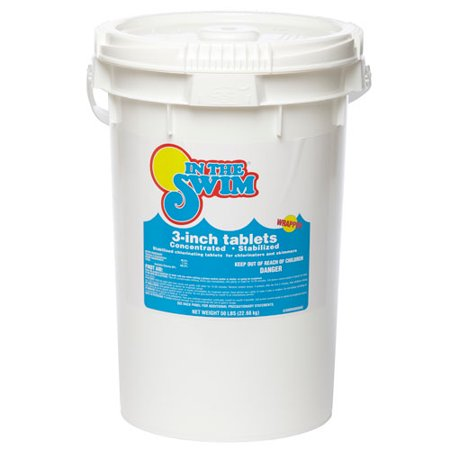 3 Inch Swimming Pool Chlorine Tablets 25 lbs. By In the