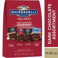 Ghirardelli Dark Chocolate Squares Assortment  14.86 oz.