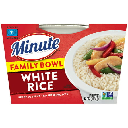 Minute Ready to Serve Long Grain White Rice, 16-Ounce Serving (Family