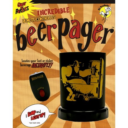 RC Products Incredible Remote Controlled Belching Beer Pager