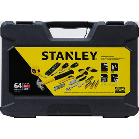 Stanley STMT74228 64 Piece Home Owners Tool Set