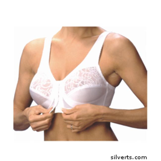 Silverts Glamorise Front Closing Arthritic Full Support Bra
