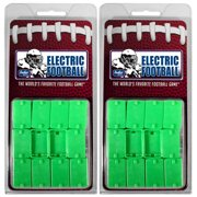 Electric Football Pro Line Double Clip Strong Rookie Straight Front Bases-24 Pack