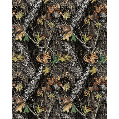 Springs Creative Mossy Oak No Sew Fleece Throw Kit, Break Up