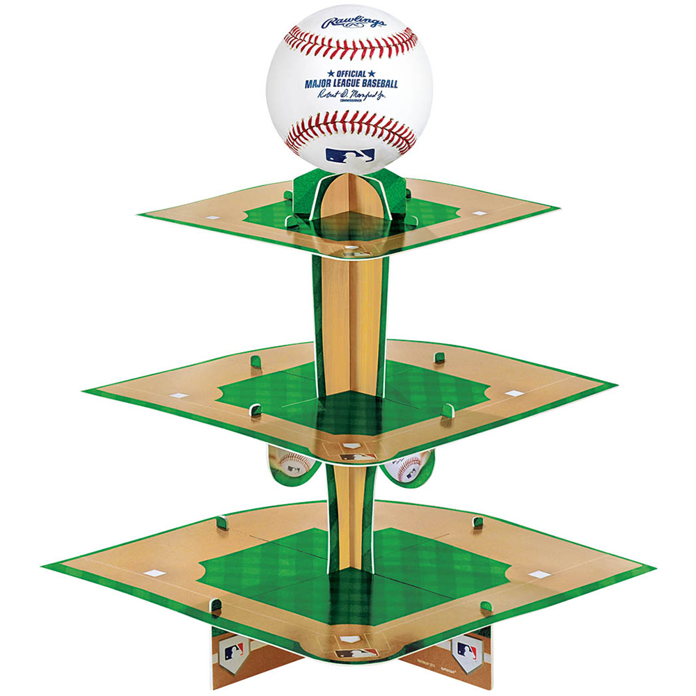 Baseball Treat Stand (Each) - Party Supplies
