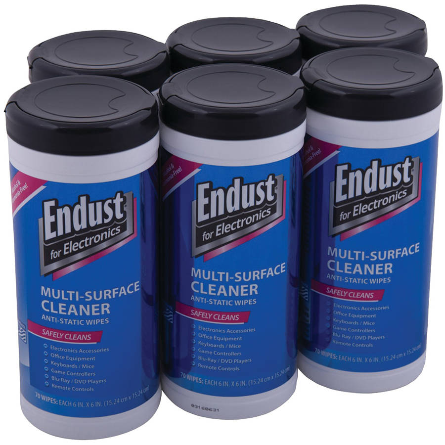 Endust for Electronics 11506P6 LCD and Plasma Pop-Up Screen Wipes