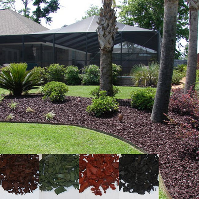 Yardwise  Rubber Landscape Mulch - Multiple Colors