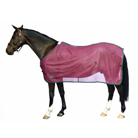 Scrim Cooler Standard Neck Grey/Navy Pony, Lightweight cooler with breathable mesh panels to wick away excess moisture quickly By Weatherbeeta