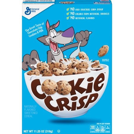 Cookie Crisp Breakfast Cereal (Pack of 10)