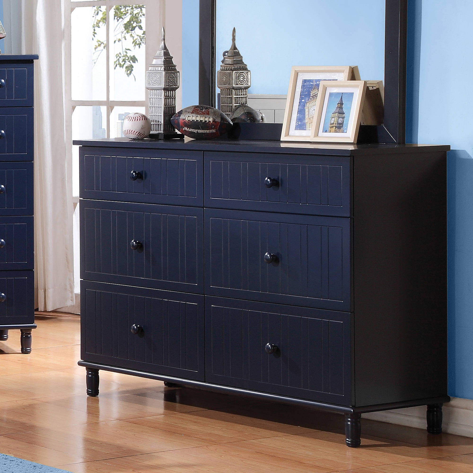 Coaster Company Zachary Collections Dresser, Navy