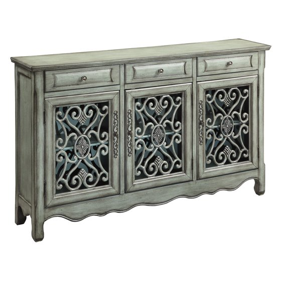 Coaster Antique Green Accent Cabinet - Coaster Antique Green Accent Cabinet - Walmart.com