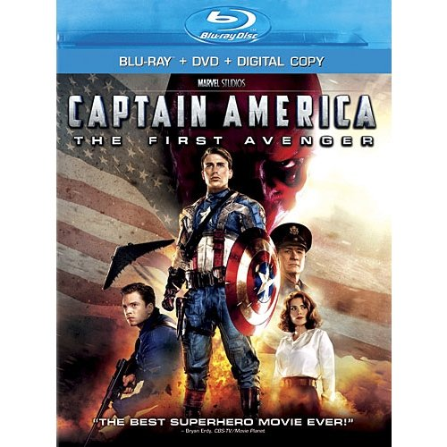 Captain America: The First Avenger (Blu-ray   DVD   Digital Copy) (Widescreen)
