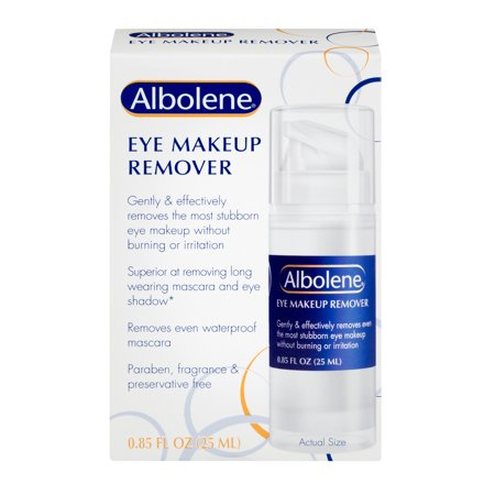 Albolene Eye Makeup Remover, 0.085 FL OZ