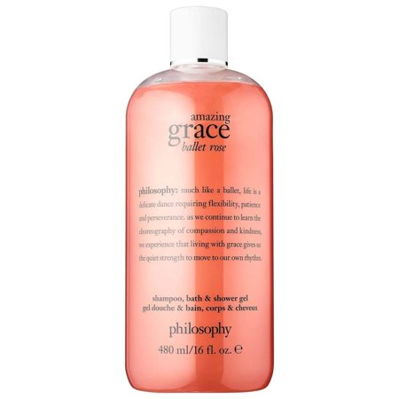 Philosophy Amazing Grace Ballet Rose Shampoo Bath & Shower Gel, 16