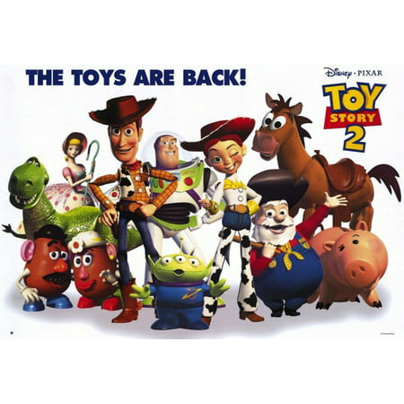 Toy Story 2 - Pixar / Disney Movie Poster / Print (The Gang - All Characters) (Woody, Buzz Lightyear...) (Size: 39