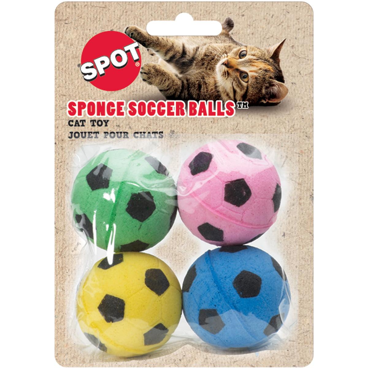"Sponge Soccer Balls 1.5"" 4/Pkg-Assorted - image 1 of 1"
