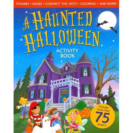Haunted Halloween Activity Book