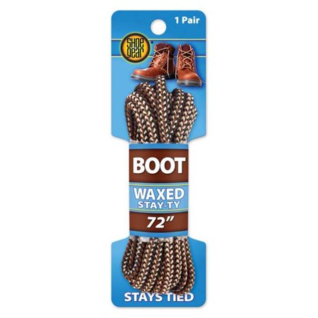 Waxed Boot Laces 72'' Rat.snake 311-42 - (Wax Coated Boot Laces)
