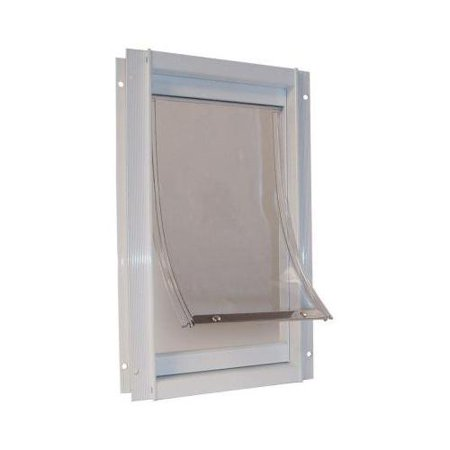 Ideal pet products ddxlw aluminum pet door for Ideal pet doors