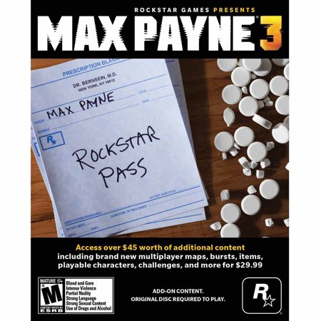 Image of Max Payne 3: Rockstar Pass (PC) (Digital Code)