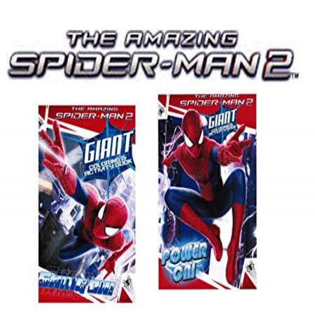 The Amazing Spider-man® 2 Movie Coloring and Activity Book Set of 2](Spiderman Coloring Book)