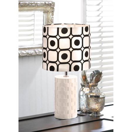 Home Locomotion  Modern Black And White Table Lamp - image 1 of 2