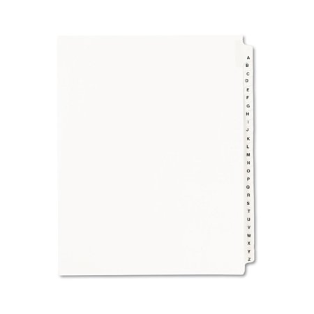 Avery  Standard Collated Legal Dividers Avery Style 1400, Letter Size, A-Z Tab - Legal Size Dividers