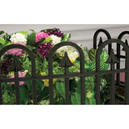 Image of Ames Wrought Iron Poly Fencing