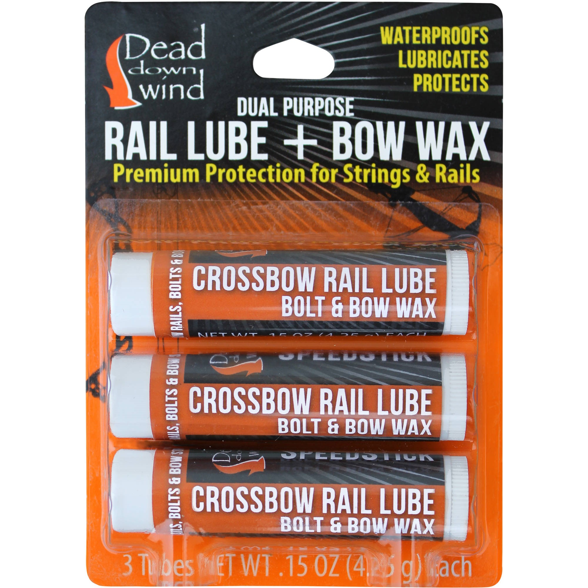 Dead Down Wind Bow Wax and Rain Lube, 3-Pack