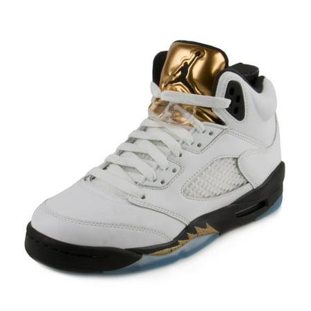 160e08f1f0c Nike Boys Air Jordan 5 Retro BG