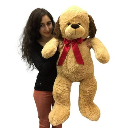 3 foot giant stuffed puppy dog 36 inch soft big plush stuffed animal. Black Bedroom Furniture Sets. Home Design Ideas