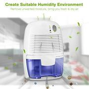 Mini Dehumidifier Home Portable 500ml Moisture Absorbing Air Dryer with Auto-off LED indicator Air Dehumidifier Purifier