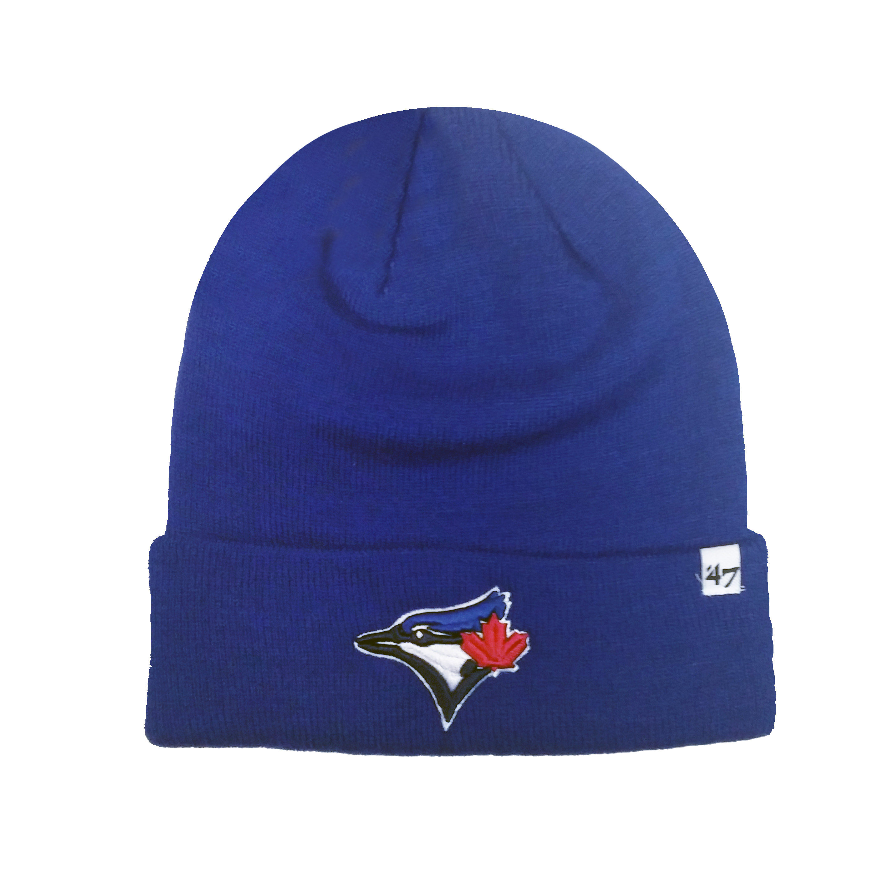 af87a09cd50 Toronto Blue Jays MLB Raised Cuff Knit Beanie - image 1 of 1 zoomed image