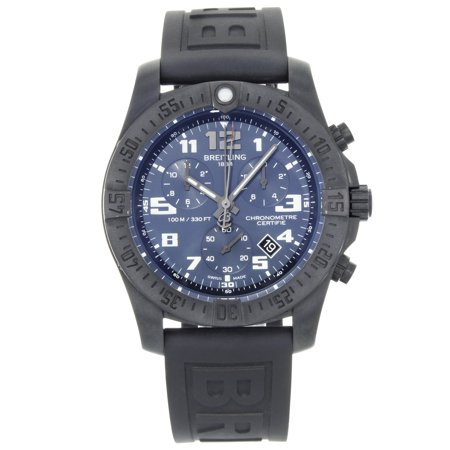 Pre-Owned Breitling Chronospace Evo Night Mission GMT Quartz Mens Watch V7333010/C939-153S