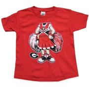 New World Graphics UGA Bulldogs Cheer Kid Youth T-shirt
