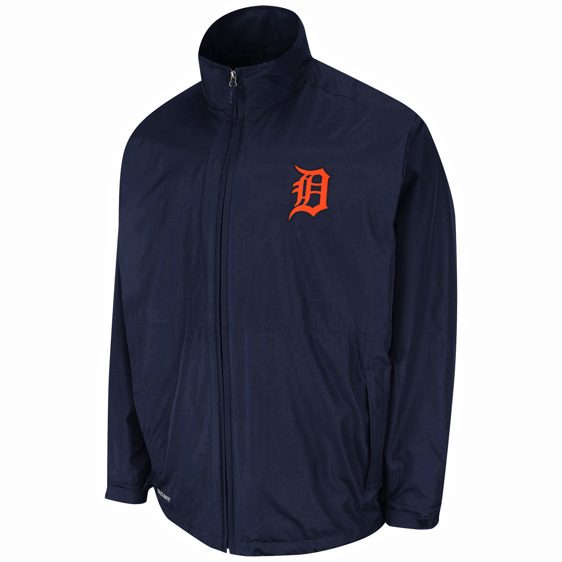 Detroit Tigers Majestic Authentic Collection Triple Climate On Field Therma Base Jacket - Navy