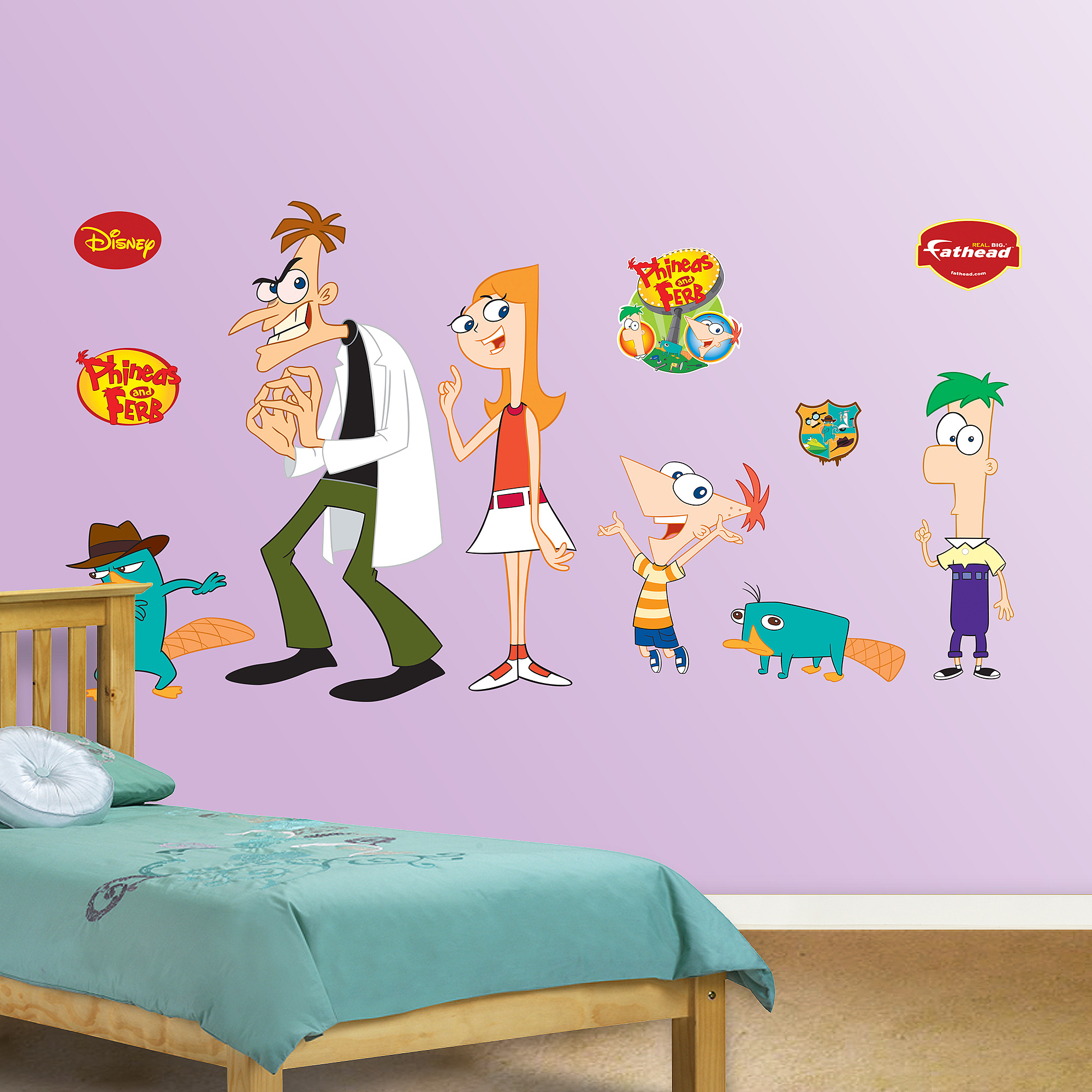 Disney Phineas and Ferb Collection Fathead
