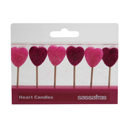 Sassafras Heart Party Candle