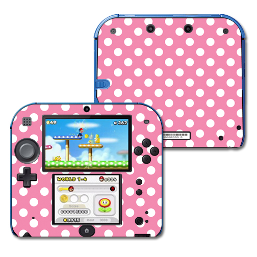 Mightyskins Protective Vinyl Skin Decal Cover for Nintendo 2DS wrap sticker skins Mini Dots