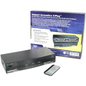 3-Playandtrade; Component Video + Toslink(R) Digital Audio High Performance Sele
