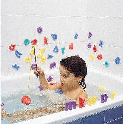 edushape Fish N Spell Bath Toy