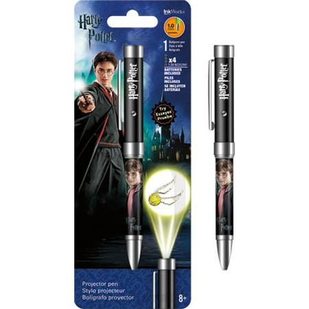 Potters Pen (Projector Pen - Harry Potter - Flashlight 1.0mm Ballpoint)