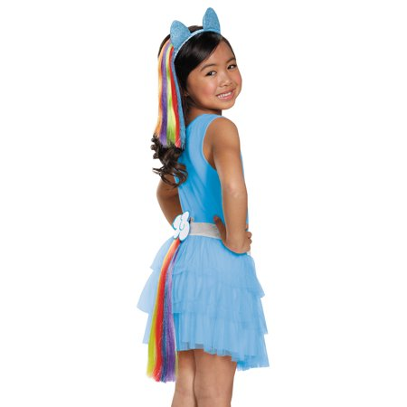 Rainbow Dash Child Tail - Rainbow Dash Halloween