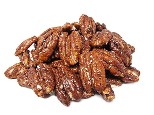 Anna and Sarah Honey Glazed Pecans in Resealable Bag, 3 Lbs by
