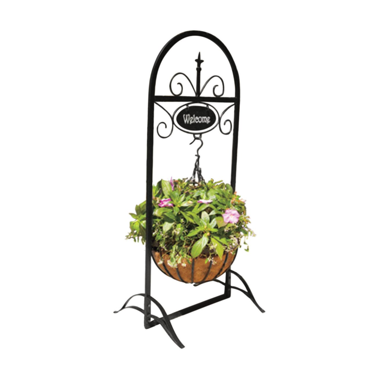 Panacea 88102 Welcome Basket Plant Stand, 48\