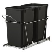 Rev-A-Shelf 6.75 Gallon Open Pull Out Trash Cans